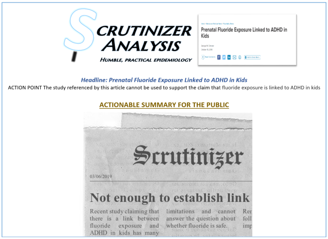 Scrutinizer Analysis_actionable summary1_Fluoride